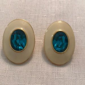 Vintage YSL Yves Saint Laurent Stunning Earrings